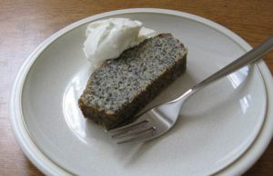 Clare's lime poppy seed cake with yoghurt