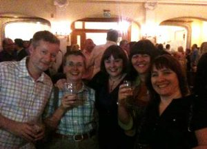 Theakston's opening party